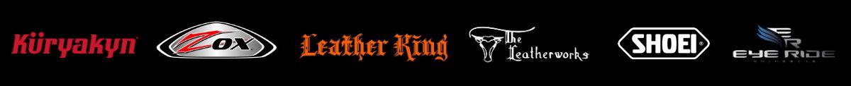 Kuryakyn Zox Leather King Leatherworks Shoei Eye Ride